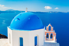 Santorini Island, Greece Stock Photography