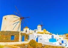 In Santorini island in Greece Royalty Free Stock Image