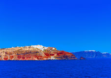In Santorini island in Greece Royalty Free Stock Image