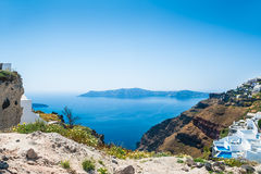 Santorini island, Greece. Stock Images