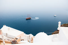 Santorini island, Greece. Stock Images