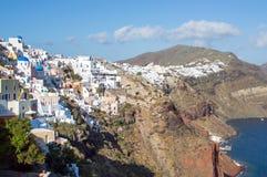 Santorini island, Greece. Beautiful landscape with sea view Royalty Free Stock Photography