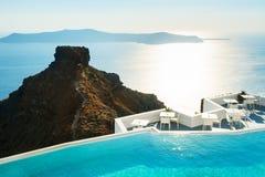 Santorini island, Greece. Royalty Free Stock Photo