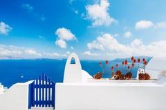 Santorini Island, Greece royalty free stock image