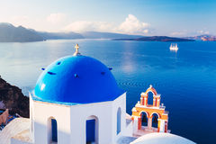 Santorini Island, Greece Stock Images