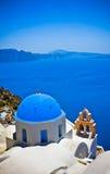 Santorini island, Greece Stock Images