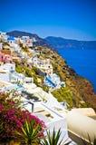 Santorini island, Greece Royalty Free Stock Images