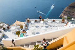 Santorini island Stock Photos