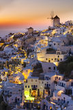 Santorini island, Greece Stock Image