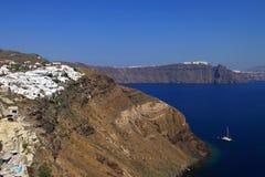 Santorini island, Greece Stock Photo