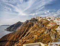 Santorini Island, Greece Royalty Free Stock Photos