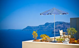 Santorini island, Greece Royalty Free Stock Photography