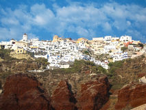 Santorini island Greece Royalty Free Stock Images