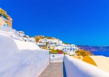 In Santorini island in Greece Royalty Free Stock Photo