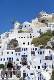 Santorini island in Greece Royalty Free Stock Image
