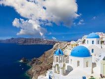 Santorini island in Greece Royalty Free Stock Photography