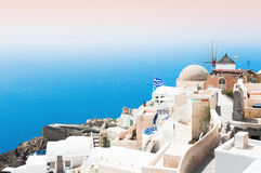 Santorini island, Greece. Stock Photo