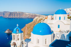 Santorini Island Greece Stock Image