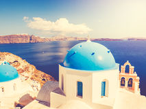 Santorini Island Greece stock photography