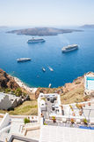 Santorini island, Greece Stock Photos