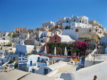 Santorini Island ,Greece Stock Photo