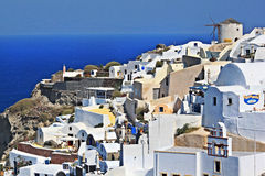 Santorini Island ,Greece Stock Images