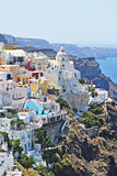 Santorini Island ,Greece Stock Image