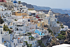 Santorini Island ,Greece Royalty Free Stock Photos