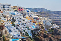 Santorini Island ,Greece Stock Photography