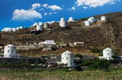 Santorini island, Greece stock image