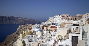 Santorini island Stock Photo