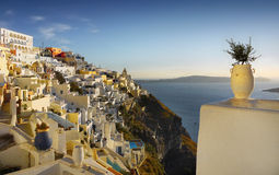 Santorini Island Landscape Greece Travel Royalty Free Stock Images
