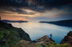 Santorini island Royalty Free Stock Photography
