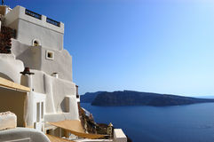 Santorini island  Oia view Royalty Free Stock Photos