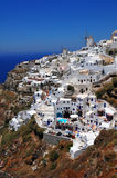 Santorini island, Oia village royalty free stock photos