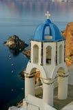 Santorini. Island travel grece landskape see Royalty Free Stock Photo