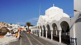 Santorini Island, Travel Greece, Cruise Greece Royalty Free Stock Photo