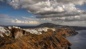 Santorini Island, Travel Greece, Cruise Greece Royalty Free Stock Image