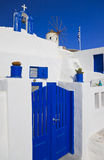Santorini island view, Greece Royalty Free Stock Photos