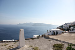 Santorini islands in the Cyclades Royalty Free Stock Images
