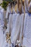 Santorini-Kleidung Lizenzfreies Stockbild