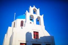 santorini kościoła zdjęcie stock