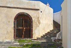santorini kroki Zdjęcie Stock