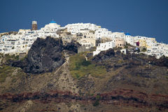Santorini - la Grèce photos libres de droits