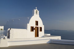 Santorini - la Grèce photo libre de droits