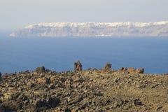 Santorini - la Grèce images stock