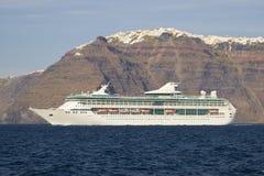 Santorini - la Grèce images libres de droits