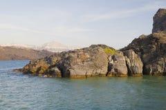 Santorini - la Grèce image stock