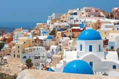 Santorini. La Grèce Image libre de droits