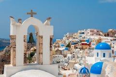Santorini. La Grèce Images libres de droits
